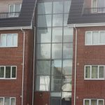 SCW Curtain Walling with Sloped Glazing