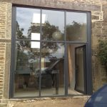 SD Curtain Walling and SPW600 Door